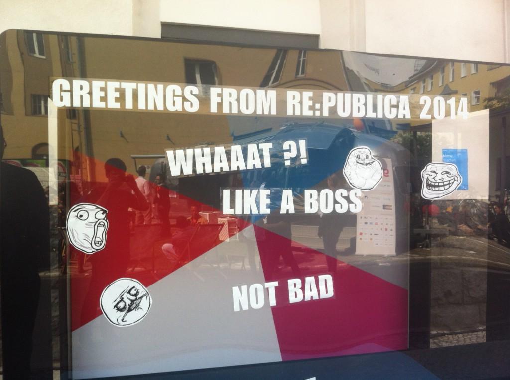 Willkommen auf der re:publica!
