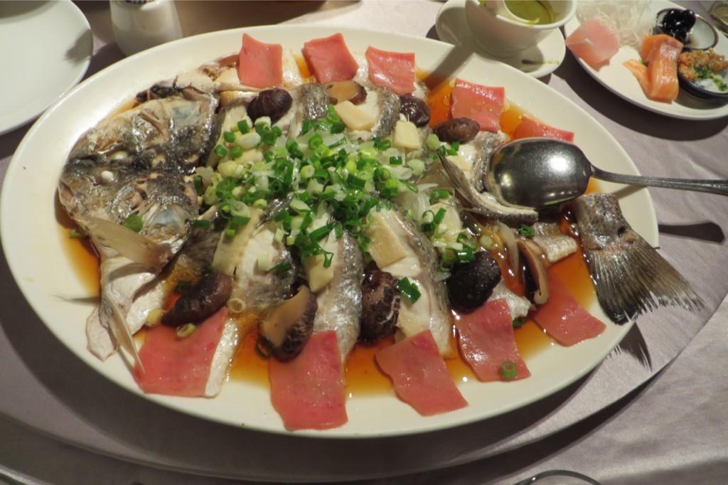Noch mehr Seafood! Der Fisch war übrigens extrem lecker.